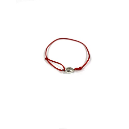 COFFEE BEANS STRING BRACELET (RED)  by BREAD MAKER X STREAMER COFFEE COMPANY