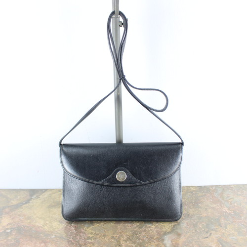 .Christian Dior LOGO LEATHER SHOULDER BAG MADE IN FRANCE/クリスチャンディオールロゴレザーショルダーバッグ 2000000039633