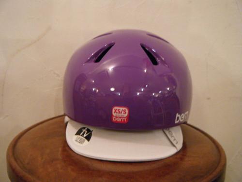 bern nina (ガールズ用) Gloss Purple