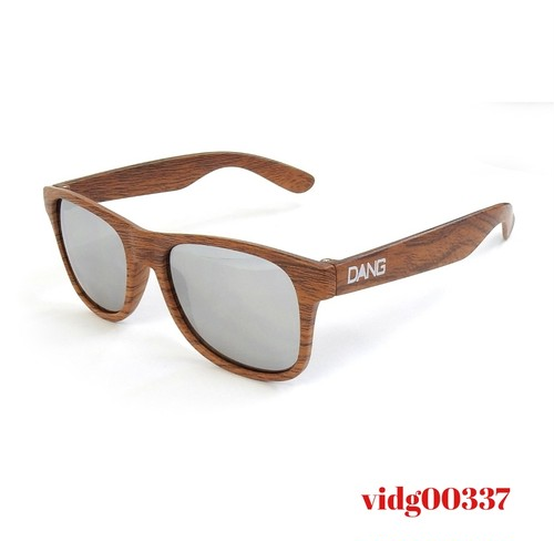 Dang Shades LOCO Wood Matte X Chrome Mirror