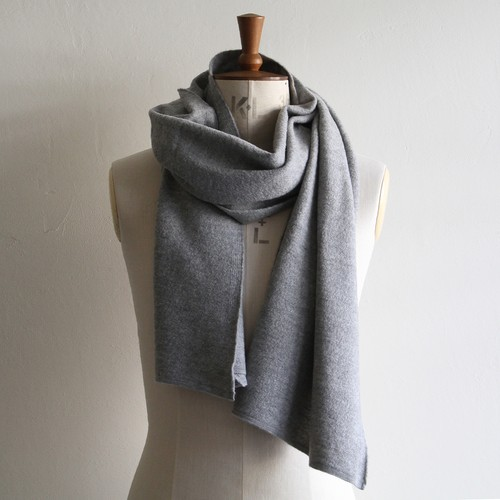 STILL BY HAND【 mens 】 cashmere wool muffler