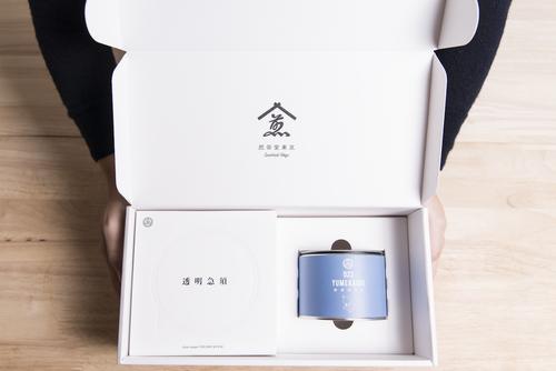 透明急須+茶缶ギフト(023ゆめかおり)