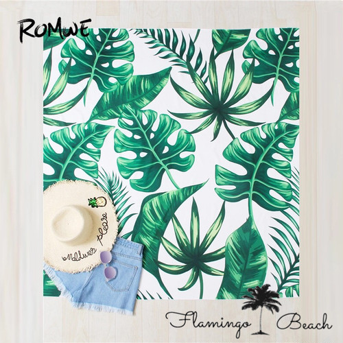 【FlamingoBeach】leaf beach mat