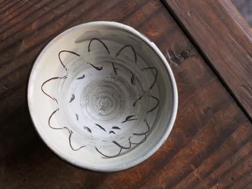 小鹿田焼 柳瀬朝夫窯 3.5寸茶碗