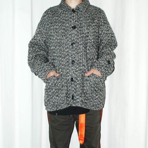 『SUSPECT』 90s knitted jacket