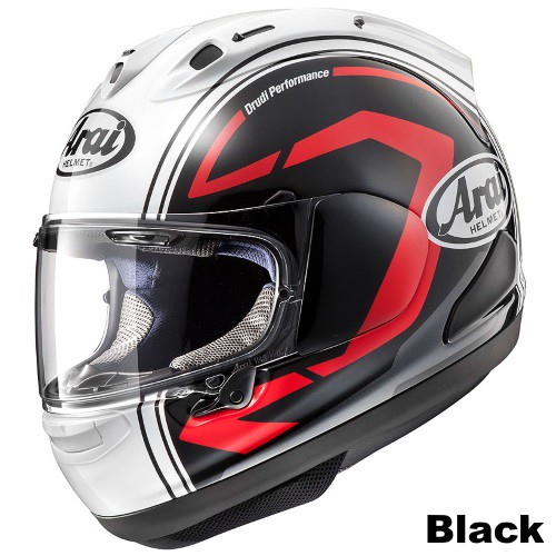 ARAI RX-7X STATEMENT Black