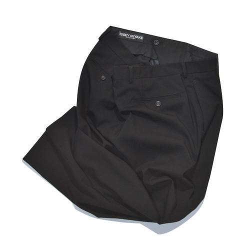 Used☆ 90's ISSEY MIYAKE White Label WOOL CASHMERE 2tuck Slacks Pants