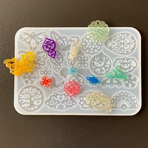 22種類作れます★シリコンモールド★ 神聖幾何学・生命の樹・蝶・花・蓮