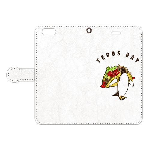 [手帳型iPhoneケース] tacos day