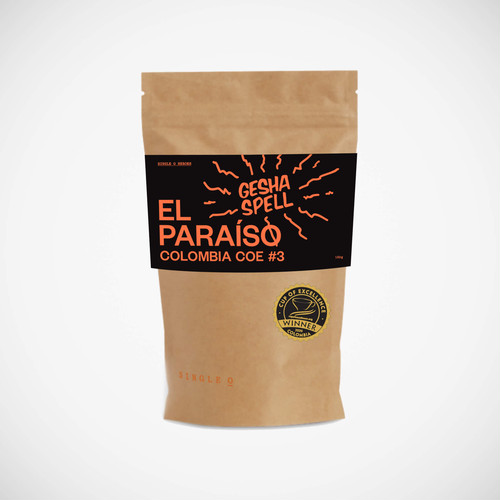 【限定数】コロンビア El Paraiso Gesha Cup of Excellence #3 150g