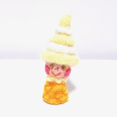ソフトクリームちゃん(バニラ&レモン)