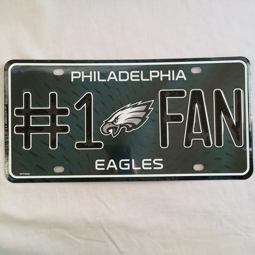 NFL フィラデルフィア イーグルス Philadelphia Eagles メタル ライセンスプレート RICO 2086
