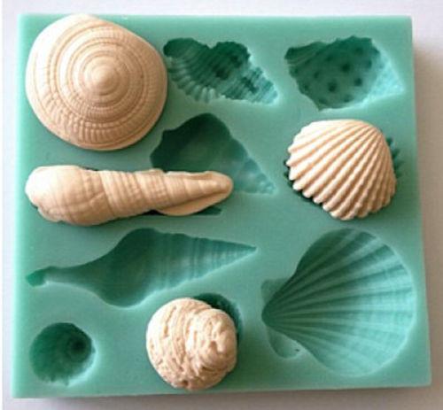 貝殻 シェル シリコンモールド