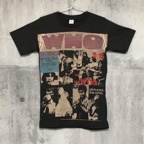 【送料無料 / ロック バンド Tシャツ】 THE WHO / Men's Ladies' Unisex T-shirts S M ザ・フー / メンズ レディース ユニセックス Tシャツ S M