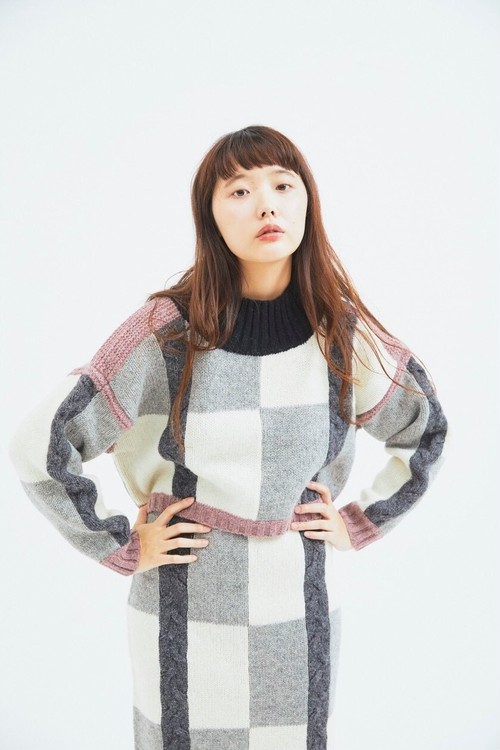 woolknit pullover tops. CaNARi