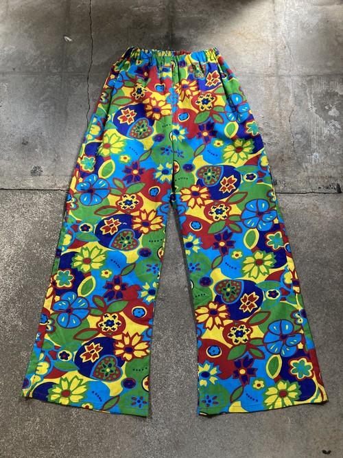 Flower Pattern Pants