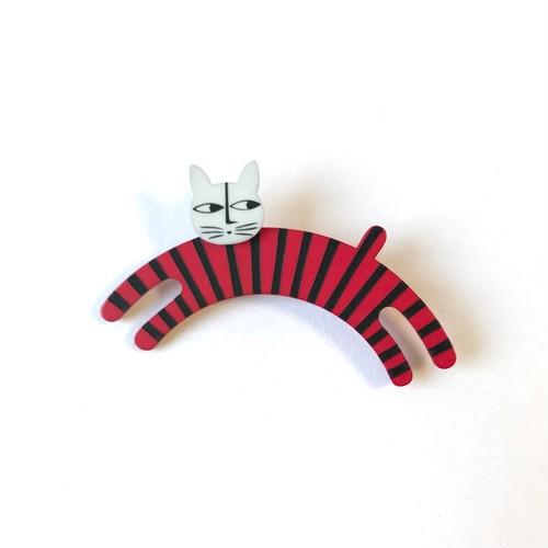 K-Formブローチ(のび猫:カラー)