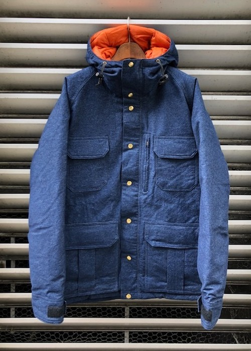 "IVY&NAVY×CRESCENT DOWN WORKS   ""別注 ARCTIC MONTAGNE PARKA on DENIM SHELL"""