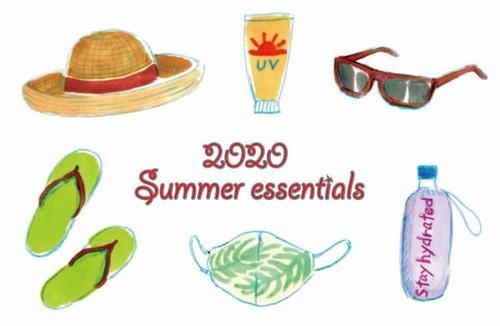 K-137 ポストカード2020年夏限定商品(2020夏の必需品)