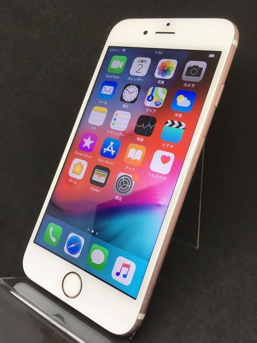 iPhone6s 64GB ローズゴールド(SIMフリー)【5650】