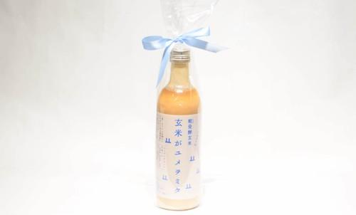 【山燕庵】糀発酵玄米『玄米がユメヲミタ』 490ml