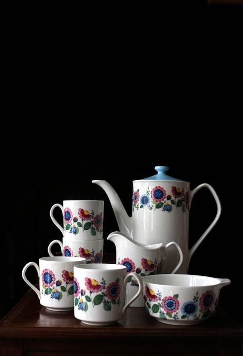 イギリス JOHNSON BROS コーヒーセット