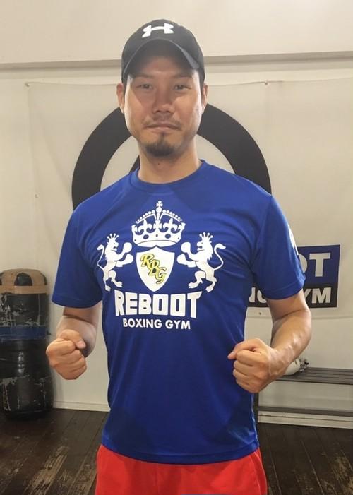 【REBOOT】エンブレムTシャツ ドライ