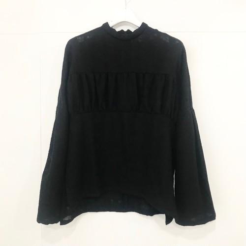 Natsumi Zama Mona Lisa Wool Top / Black