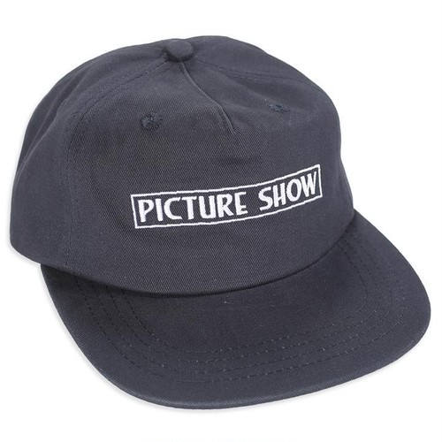 PICTURE SHOW VHS STRAPBACK HAT NAVY