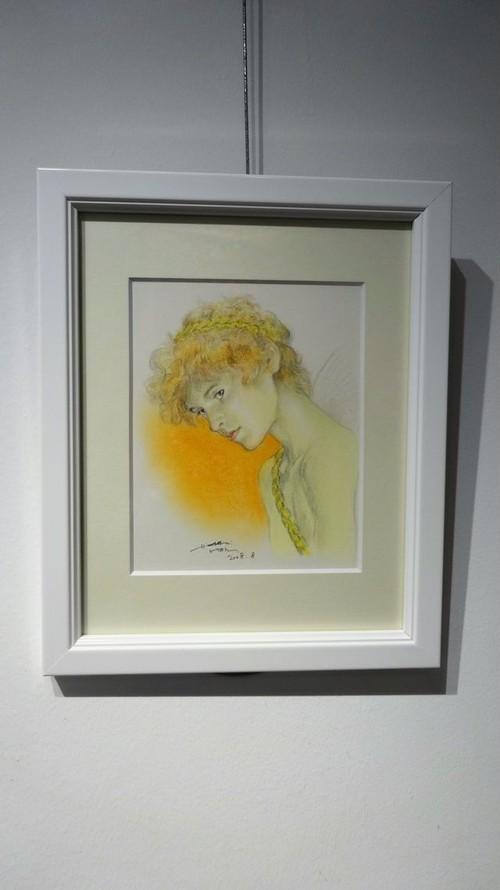 絵画「A Butterfly Fairy」(2008年)