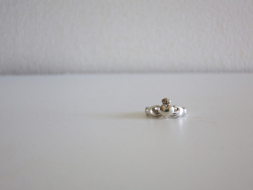 Vintage Claddagh Ring US5