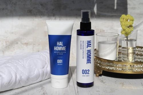 【HAL HOMME SKINCARE】洗顔・ローションセット