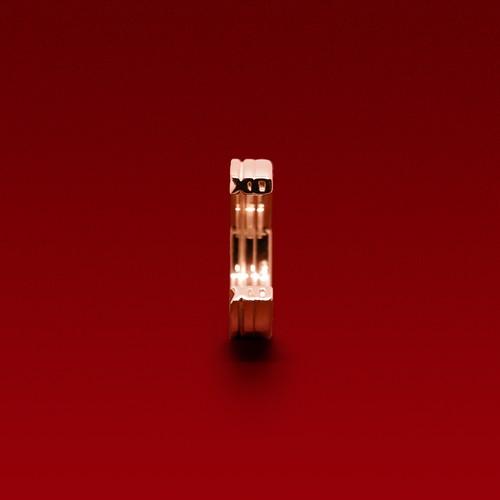 X'mas限定ピンキーリング「XO」- pink gold