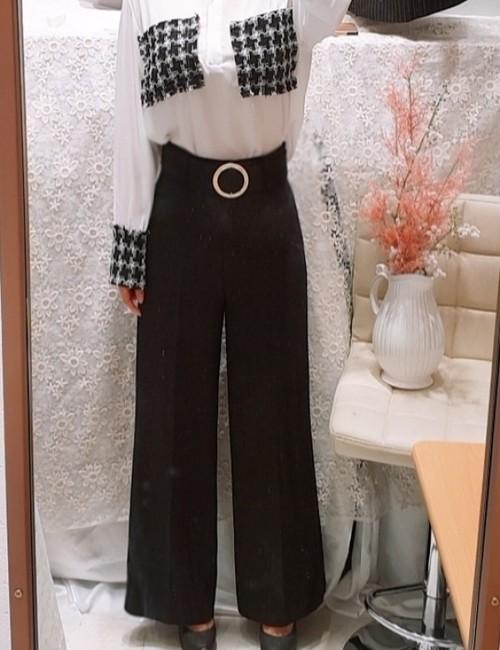 ドルチェベルトパンツ パンツ  韓国ファッション