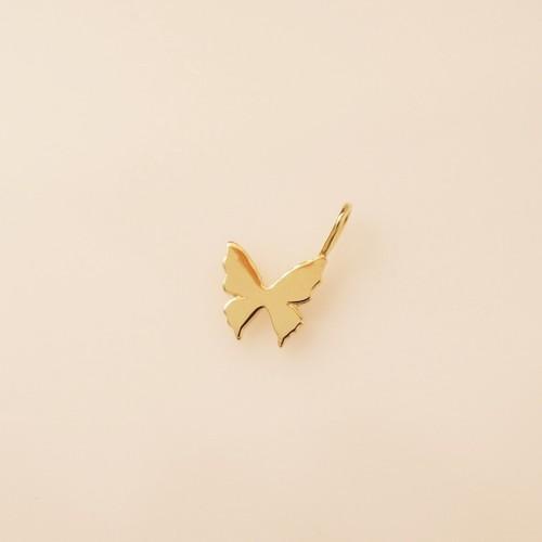 自由な蝶 つや ネックレスチャーム