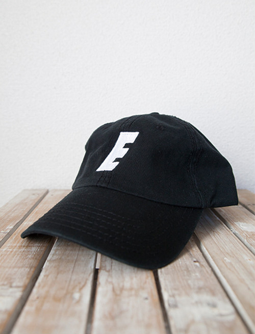 【EMMURE】Sport Logo Dad Hat (Black)