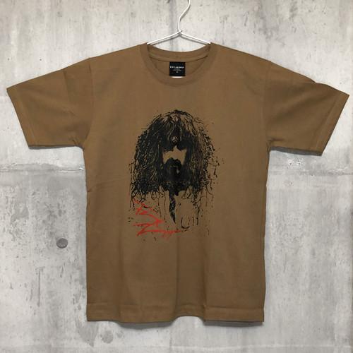 【送料無料 / ロック バンド Tシャツ】 FRANK ZAPPA / Men's T-shirts Brown M フランク・ザッパ / メンズ Tシャツ ブラウン M