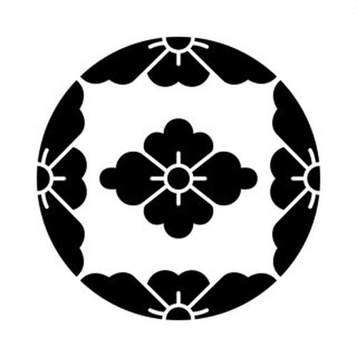 四つ割桜に花菱 aiデータ