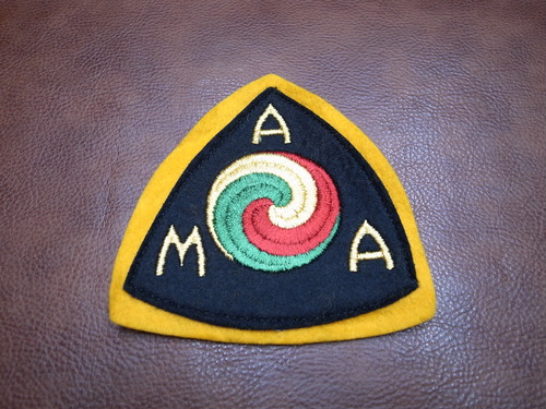 AMA BIG SIZE Vintage Patch(American Motorcycle Association)