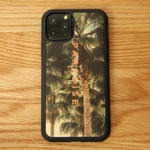 """ウッドiPhoneケース """"PARADISE FOUND"""" 【各機種対応】"""