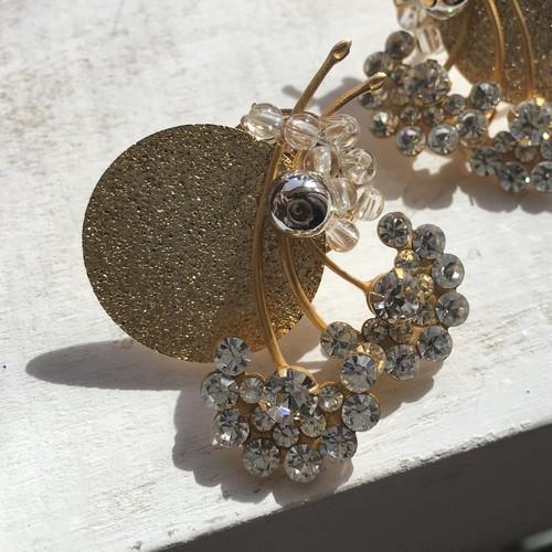 """circle gold"" pierce/earring"