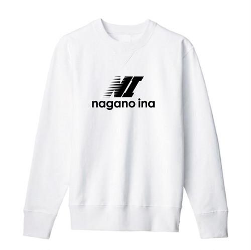 nagano ina  スウェット ホワイト