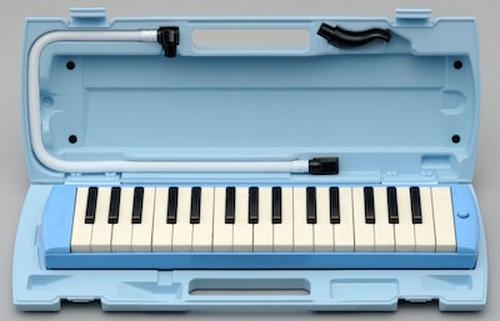 YAMAHA(ヤマハ)/ P-32E 鍵盤ハーモニカ ブルー 水色