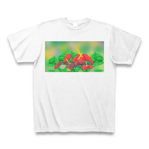 「アンスリュームは見てほしい」Tシャツ