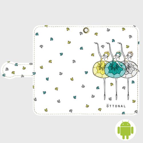 (Android)ジュエルズ手帳型ケース