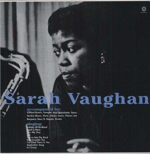 【新品LP】Sarah Vaughan / With Clifford Brown