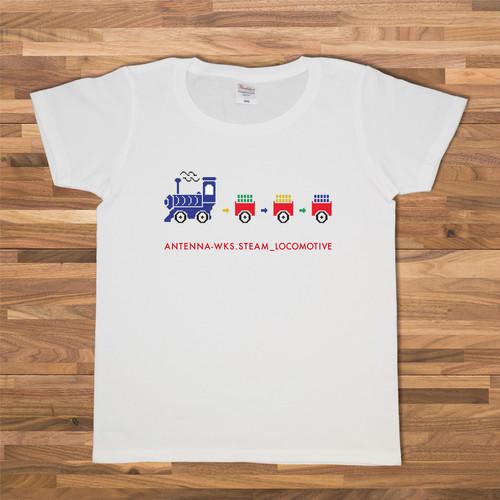 汽車 Tシャツ/ホワイト【CWE-094WH】