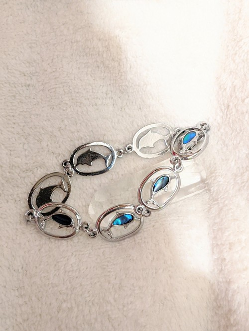 - dolphin - vintage bracelet new