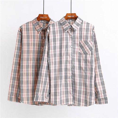 ヴィンテージ風チェックシャツ