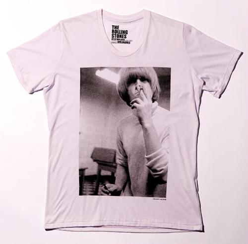 Brian Jones Tシャツ(ライトピンク M)